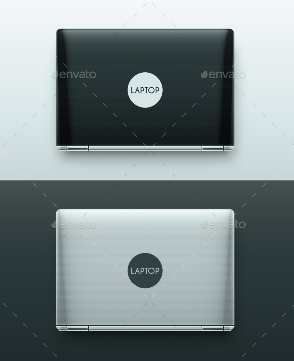 GraphicRiver Two Laptops 9517510