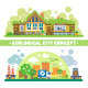 Ecological City Concept - GraphicRiver Item for Sale