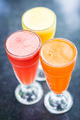 fresh orange carrot and watermelon fruit juice - PhotoDune Item for Sale