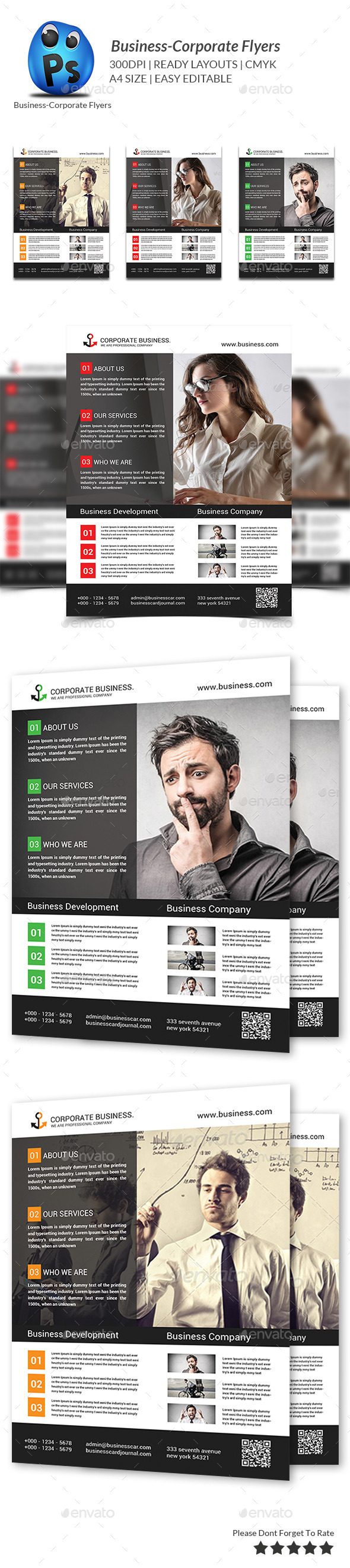 GraphicRiver Best Business Flyers Templates 9518076