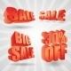 Sale 3D Design - GraphicRiver Item for Sale