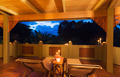 Romantic Deck on Tropical Home at Sunset - PhotoDune Item for Sale