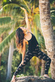 Woman Practicing Yoga Outdoors - PhotoDune Item for Sale