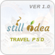 Stillidea - Travel, Clean PSD Template - ThemeForest Item for Sale