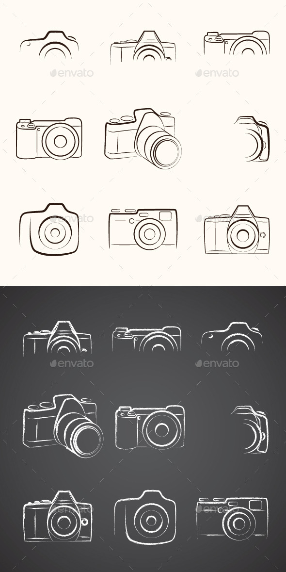 GraphicRiver Camera Outline 9518725