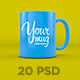 Your Mug - PSD Mockup - GraphicRiver Item for Sale