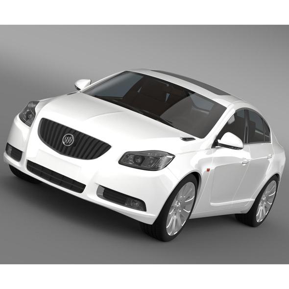 3DOcean Buick Regal FlexFuel 2011-2013 9518916