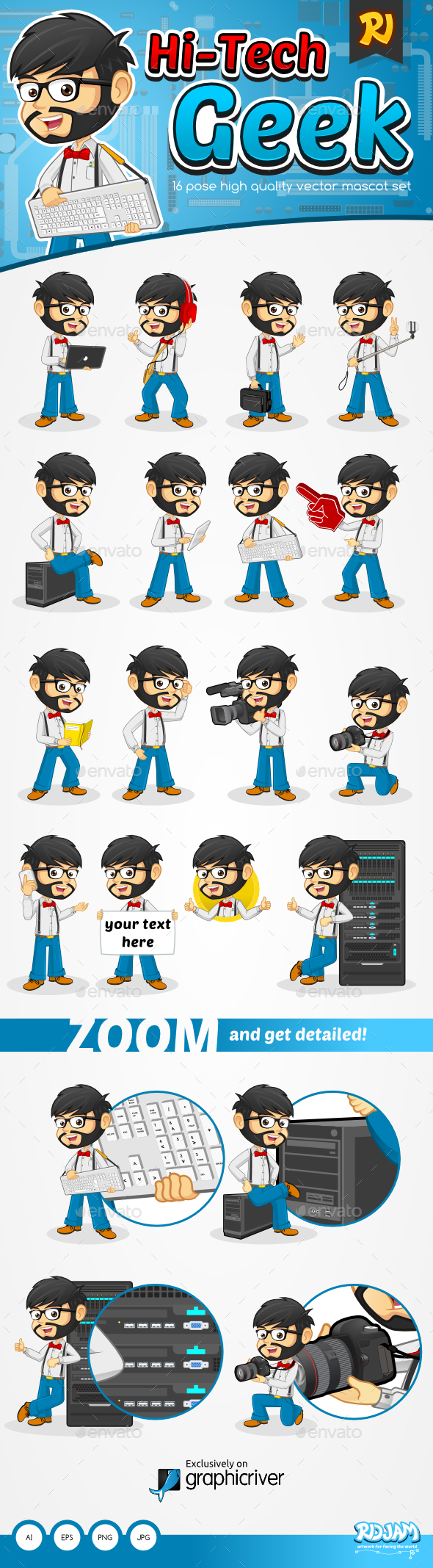 GraphicRiver Hi-Tech Geek 9469977