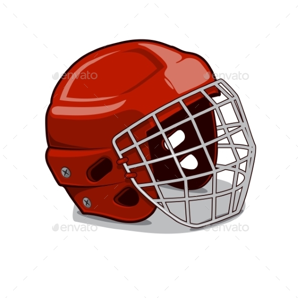 GraphicRiver Hockey Protection Helmet 9519293