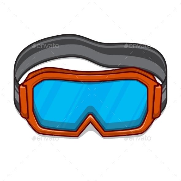 GraphicRiver Snowboard Ski Goggles 9519309