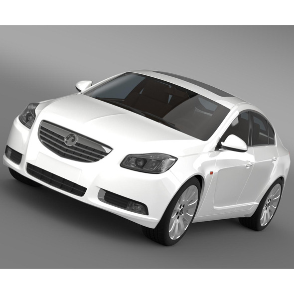 Vauxhall Insignia ecoFLEX Hatchback 2009-2013 - 3DOcean Item for Sale
