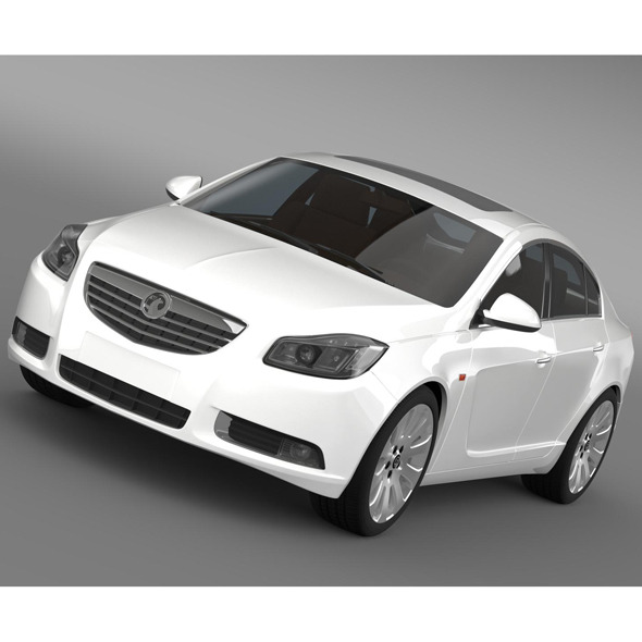 Vauxhall Insignia Hatchback 2009-2013 - 3DOcean Item for Sale