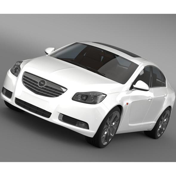 3DOcean Opel Insignia 2008-13 9519357