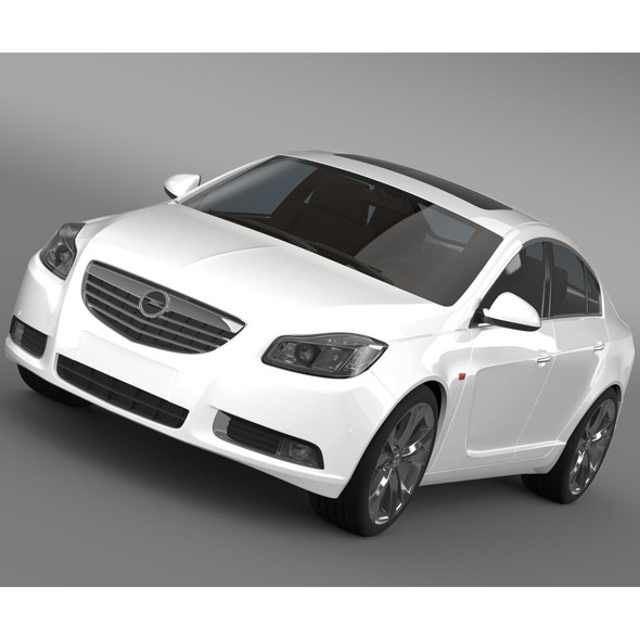 Opel Insignia Biturbo 2008-13 - 3DOcean Item for Sale