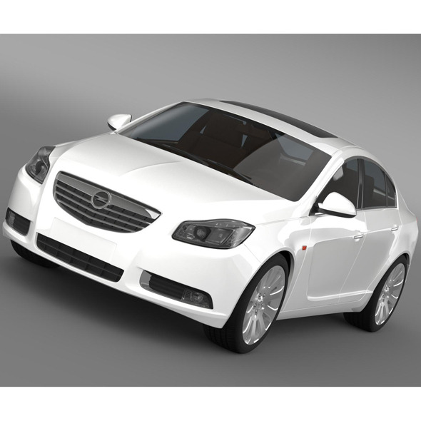 3DOcean Opel Insignia ECOFlex 2008-13 9519403