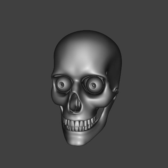 3DOcean Skull 9519438
