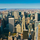 Aerial panoramic view over upper Manhattan - PhotoDune Item for Sale