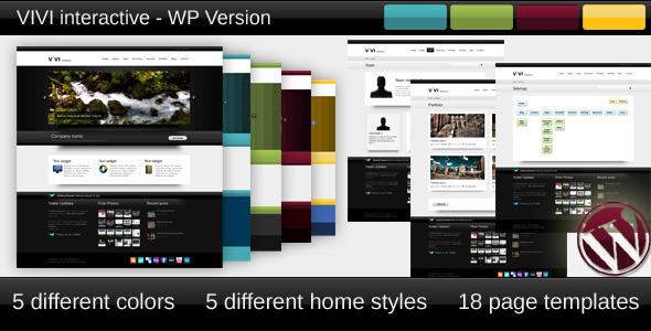 ThemeForest VIVI Theme WP version 107612