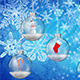 8 Snowglobes Backgrounds - GraphicRiver Item for Sale