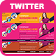Ivato Twitter Header  - GraphicRiver Item for Sale