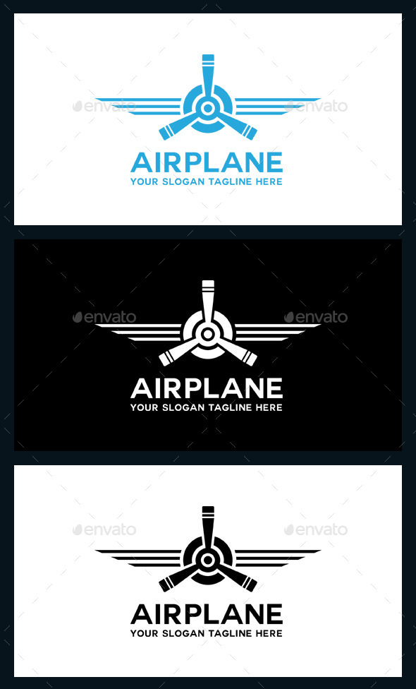 GraphicRiver AirPlane Logo Template 9519905