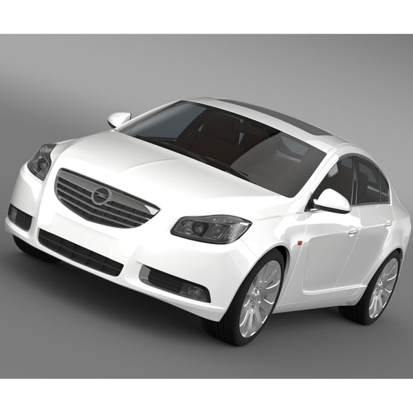3DOcean Opel Insignia Hatchback 2008-13 9519907