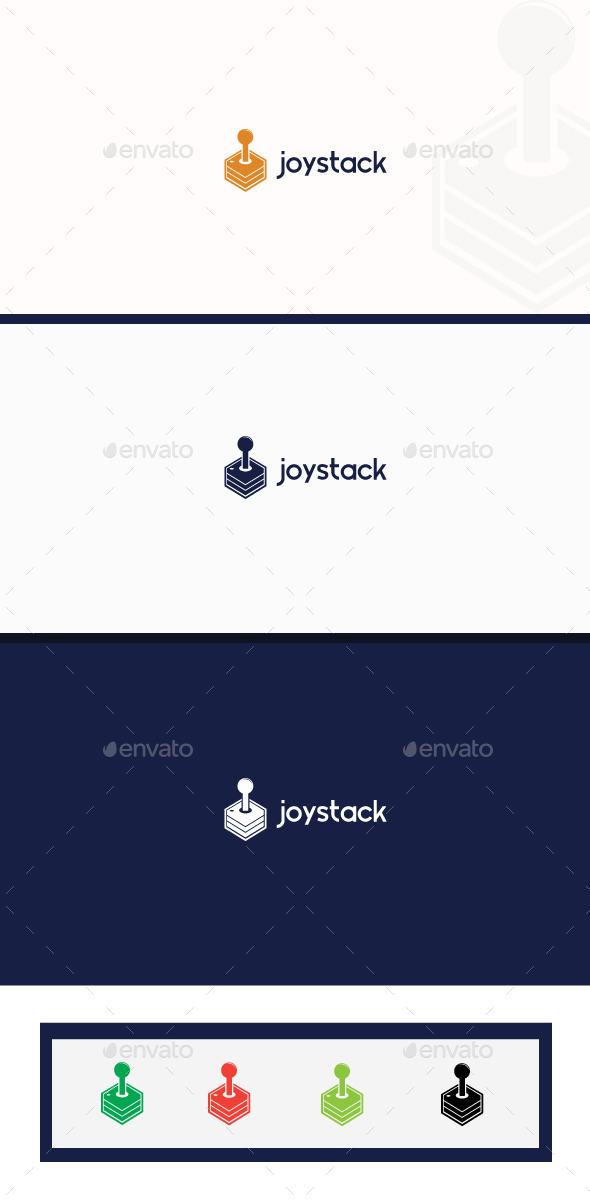 GraphicRiver Joystack logo 9519909
