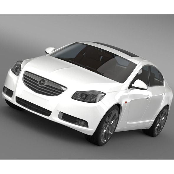 Opel Insignia Turbo 2008-13 - 3DOcean Item for Sale