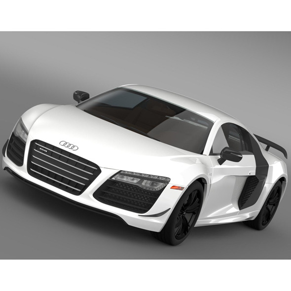 3DOcean Audi R8 Competition 2015 9519938