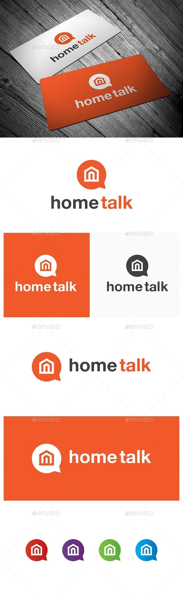 GraphicRiver Home Talk 9470864
