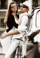Young fashion couple in love at the retro car - PhotoDune Item for Sale