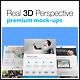 8 Real 3D Web Presentation Mock-Ups - GraphicRiver Item for Sale
