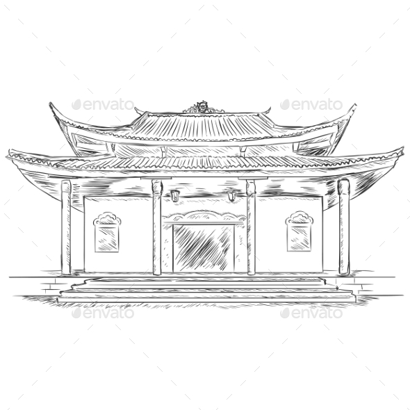 GraphicRiver Buddist Pagoda 9520648