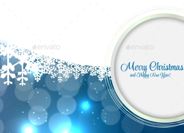 GraphicRiver Abstract Beauty Christmas and New Year Background 9520758
