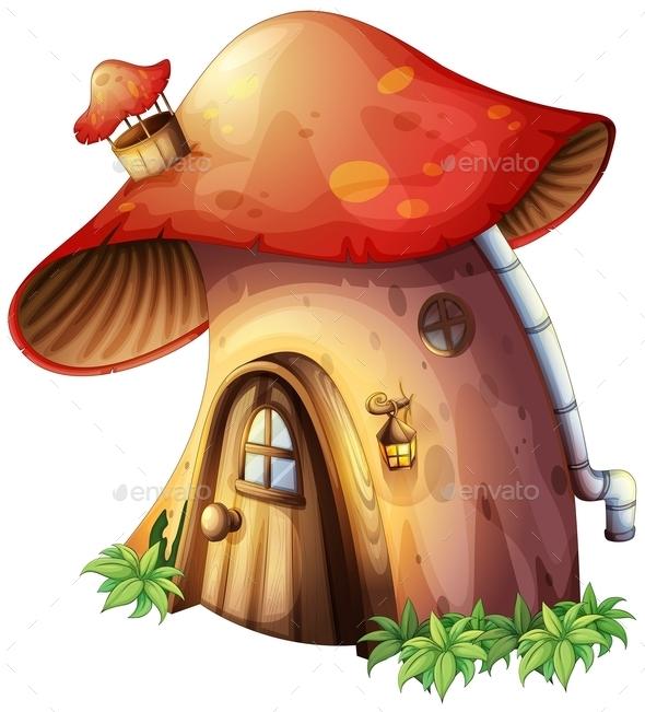 GraphicRiver Mushroom House 9520895