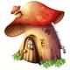 Mushroom House - GraphicRiver Item for Sale