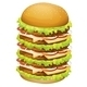 Big Pile of Hamburger - GraphicRiver Item for Sale