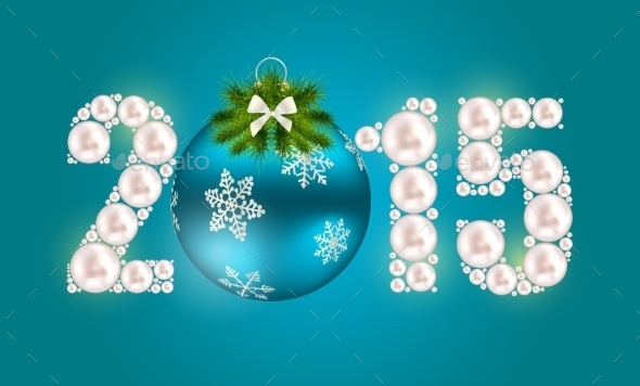 GraphicRiver Abstract Beauty Christmas and New Year Background 9520937