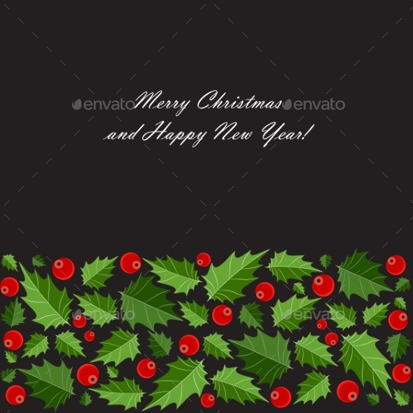 GraphicRiver Abstract Beauty Christmas and New Year Background 9520966
