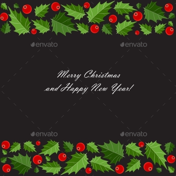 GraphicRiver Abstract Beauty Christmas and New Year Background 9520968