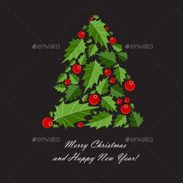 GraphicRiver Abstract Beauty Christmas and New Year Background 9520973