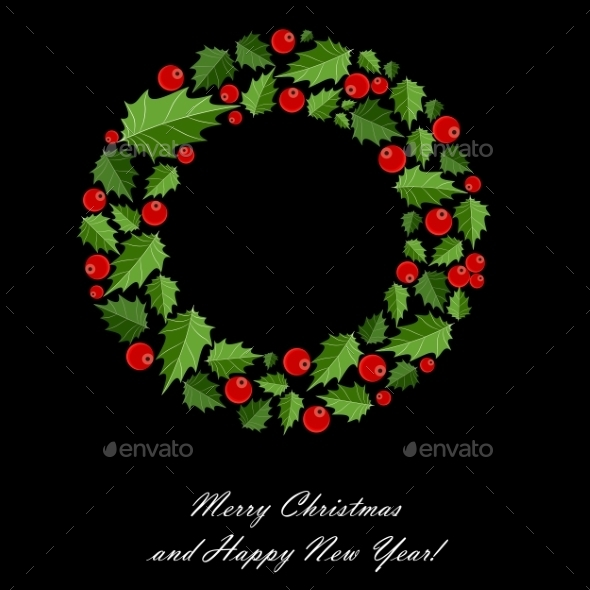 GraphicRiver Abstract Beauty Christmas and New Year Background 9521013