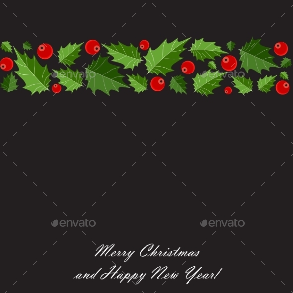 GraphicRiver Abstract Beauty Christmas and New Year Background 9521016