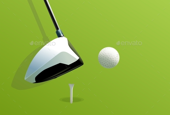 GraphicRiver Putting Golf 9521075