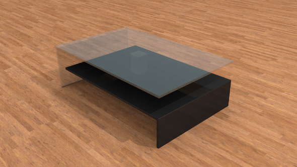 3DOcean Modern coffee table 9521261