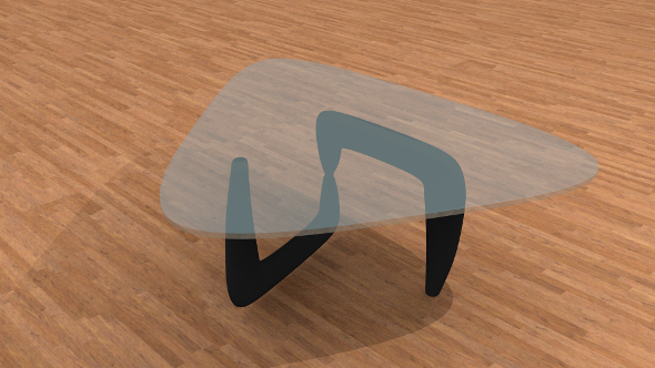 3DOcean Modern coffee table 9521273