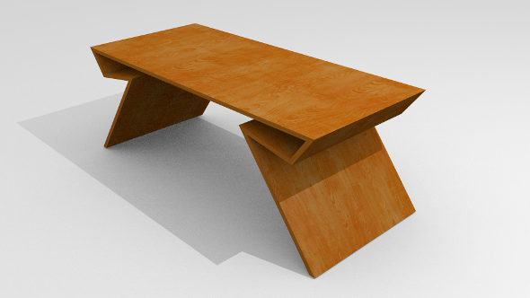 Modern table - 3DOcean Item for Sale