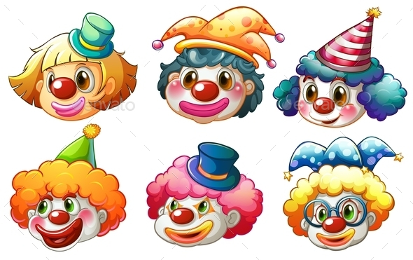 GraphicRiver Clowns 9521328