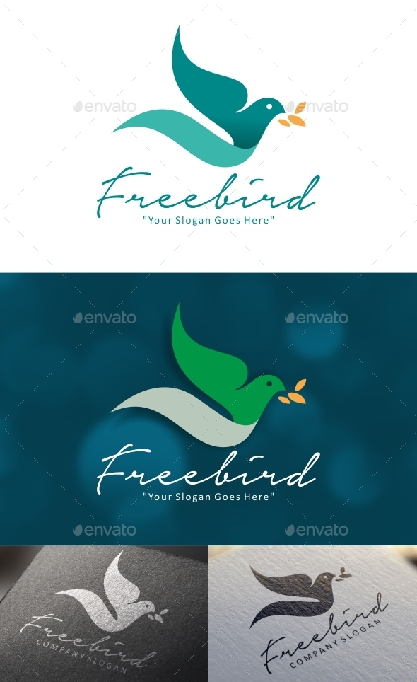 GraphicRiver Freebird Logo 9521352
