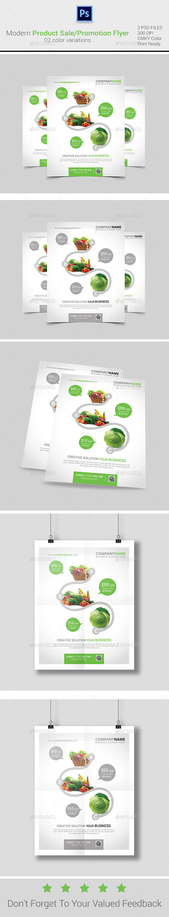 GraphicRiver Product Sale Promotion Flyer Poster ad Templates 9521472